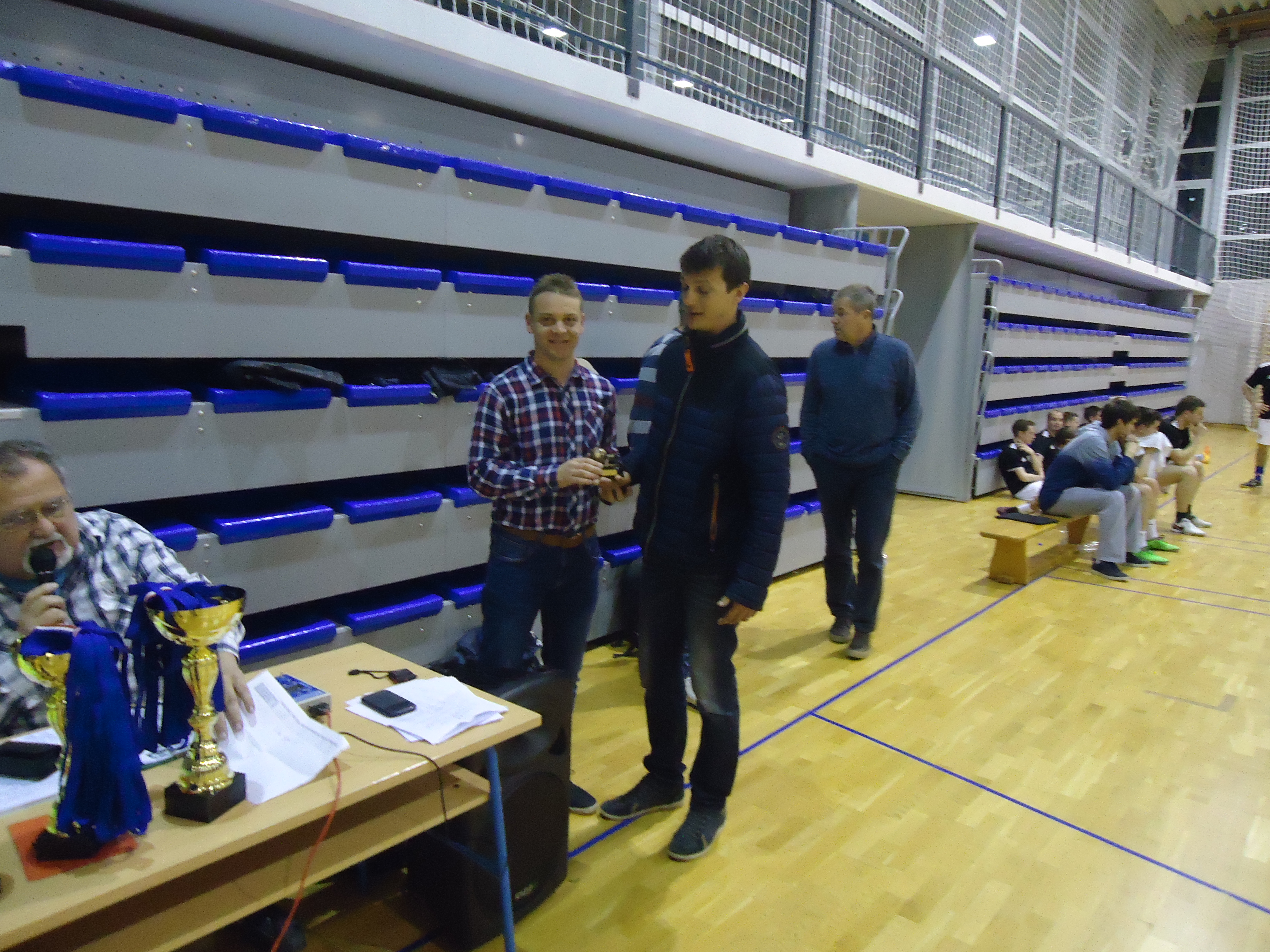 Najbolji prognozer 2016/2017 (Niko Butijer) preuzeo nagradu Denis Braičević